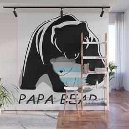 Papa Bear Demiboy Wall Mural