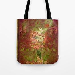 Les Jardins Des Lapins (The Garden of Rabbits) Tote Bag