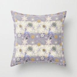 Flake&Lace (Parma) Throw Pillow