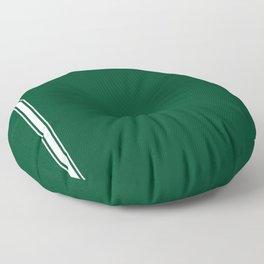 British Racing Green Floor Pillow