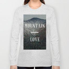Mountain Love Long Sleeve T-shirt