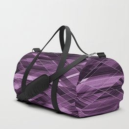 Abstract violet pattern Duffle Bag