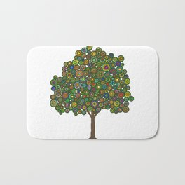 Marble Tree Bath Mat