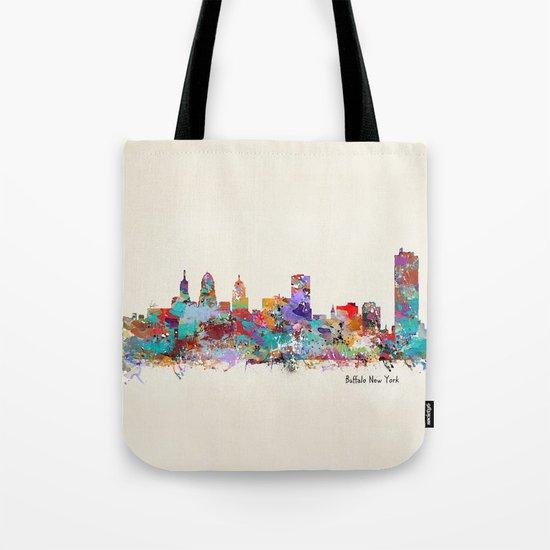buffalo city new york Tote Bag