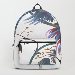 Gamaun Halloween Prophetic Raven Vector Backpack