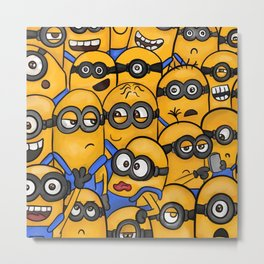 so many yellow creature Metal Print