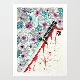 Rurouni Kenshin fanart Art Print