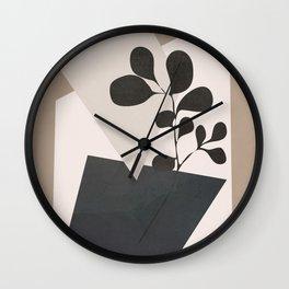 Vase Abstract Wall Clock