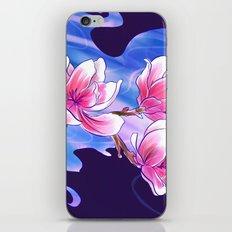 Magnolia night iPhone & iPod Skin