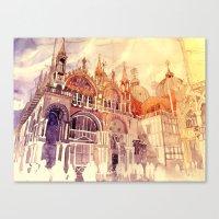takmaj Canvas Prints featuring Venezia by takmaj