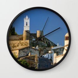 Monsaraz in the Alentejo, Portugal Wall Clock