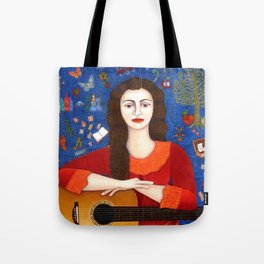 "Violeta Parra - ""Thanks to Life "" Tote Bag"