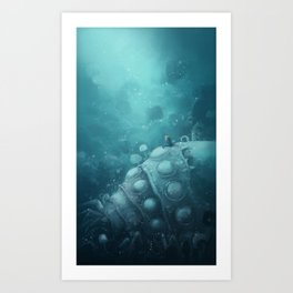 Nausicaa (No Text) Art Print