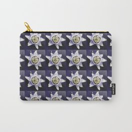 flower and nature - blue flower 3 Carry-All Pouch