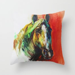 """""""Red"""" Throw Pillow"""