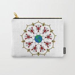 Crawfish Mandala Carry-All Pouch