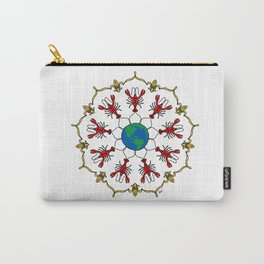 Crawfish Mandala Carry-All Pouch