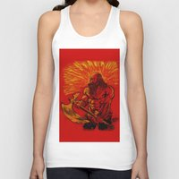 viking Tank Tops featuring Viking  by David Miley