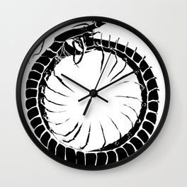 Ouroboros Centipede Wall Clock