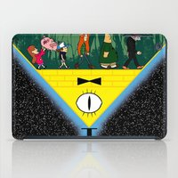 gravity falls iPad Cases featuring Gravity Falls by itspronouncedDEE-ANN-UH