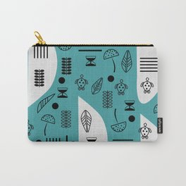 Little turtles and mushrooms Carry-All Pouch