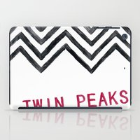 twin peaks iPad Cases featuring Twin Peaks by BITN
