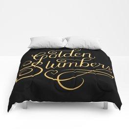 Golden Slumbers Comforters