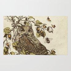 Great Horned Owl Rug