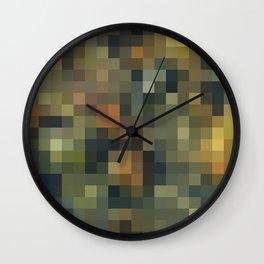 ROCK AND WATER MOSAIC Wall Clock