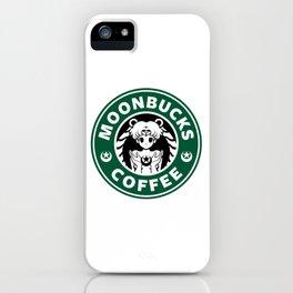 Moonbucks Coffee iPhone Case