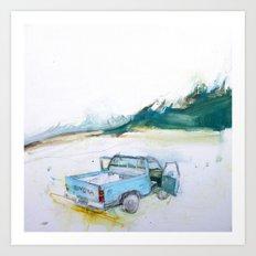 Mammoth Lakes CA Art Print