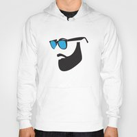 beard Hoodies featuring Beard by Paco Dozier