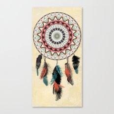 Mandala Dream Catcher Canvas Print