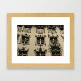 Outside Framed Art Print