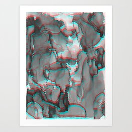 Present Tense Art Print