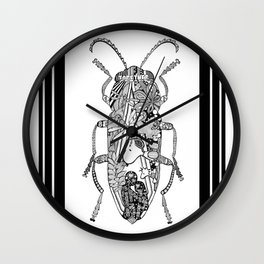 BE ONE GROW ROOTS by Mady Thieme Wall Clock