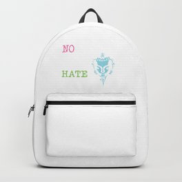 There Are No Chains Like Hate | Gautama Buddha Backpack