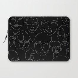 Face Thread Laptop Sleeve