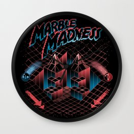 Madness Marbles Wall Clock