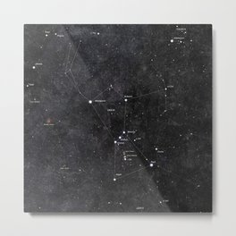 Orion Metal Print