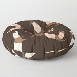 Ferrets Everywhere Floor Pillow