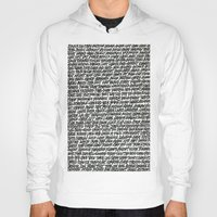 word Hoodies featuring Word by Abstractink82