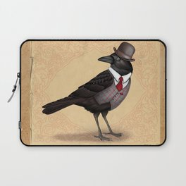 Mr Crow On Payday Laptop Sleeve