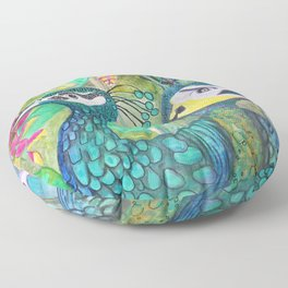 Birds of a Feather Floor Pillow