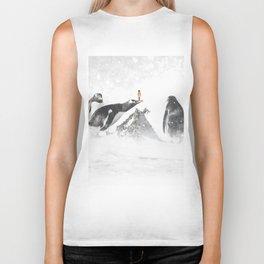Penguins and me Biker Tank