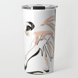 Gesture Dance Drawing Travel Mug