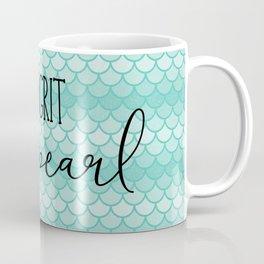 No Grit No Pearl Coffee Mug