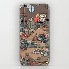 Artist in the Attic iPhone & iPod Skin