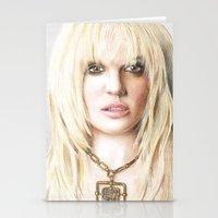 britney Stationery Cards featuring Britney by LeonieMV