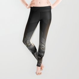 Moon Dust In Your Lungs Leggings